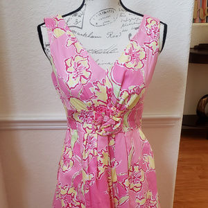 Lilly Pullitzer Pink and Yellow dress
